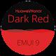 Dark Red EMUI 9 Theme [ Black and Red ] apk
