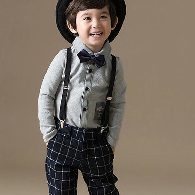 Classy Black Suspender by Stylo Kids Trading