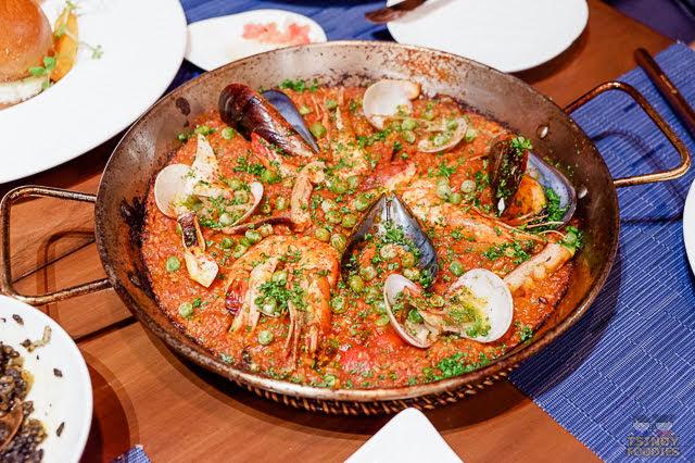 paella seafood