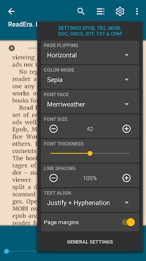 ReadEra - book reader pdf, epub, word 19.12.27+1120 screenshots 5
