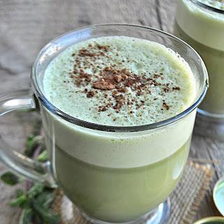 Peppermint Mocha Matcha Latte
