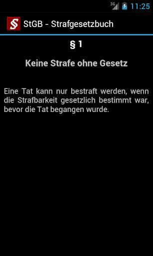 Strafrecht - Strafgesetze screenshot 3