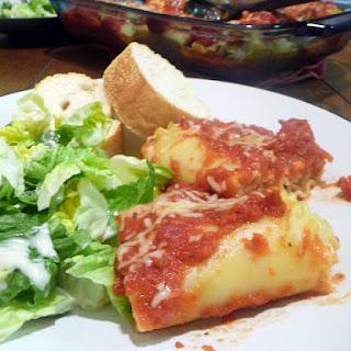 Madison's Shrimp Lasagna Rolls.