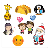 ❤️Love, 😊 Emoji & 👧Cute Girl Stickers (10 packs)