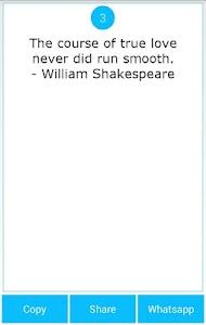 101 Great Saying by Shakespear screenshot 7