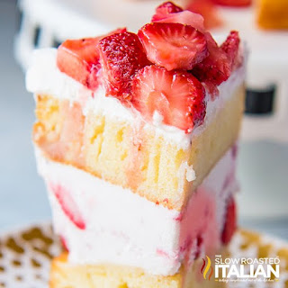 Strawberry Shortcake Layer Cake Recipe