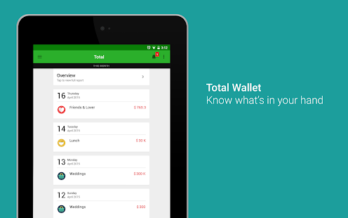 Money Lover - Expense Manager - screenshot thumbnail