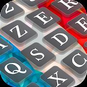 New French English Keyboard with Emojis