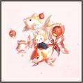 金魚とモモ