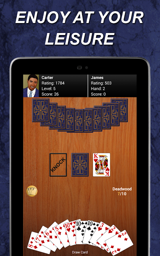 play gin rummy online free against computer