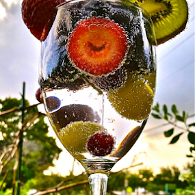 { Southern Fruit Smiles ~ 23 July }  by Jeffrey Lee - Artistic Objects Other Objects ( { florida natural fruit drink ~ 23 july },  )