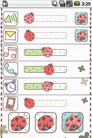 Sound setting of Ladybug screenshot 2
