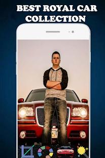 Royal car photo frame - náhled