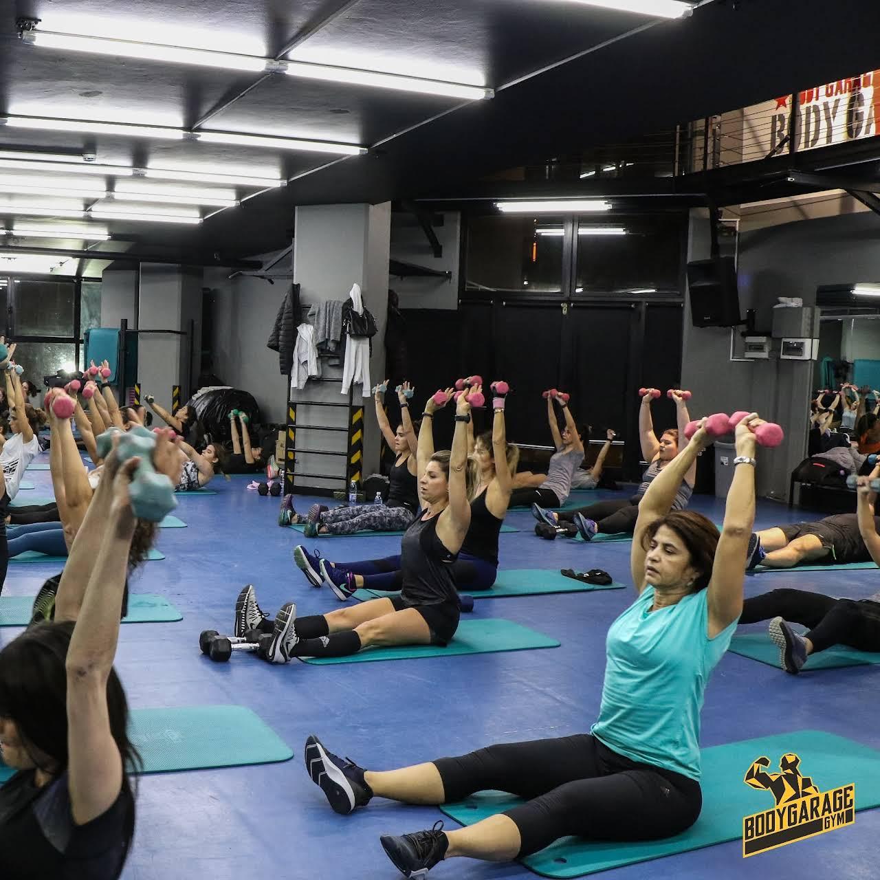 Bodygarage gym physical fitness program in beirut