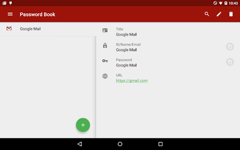 Password Book (Free)- screenshot thumbnail