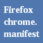 Firefox chrome.manifest Icon