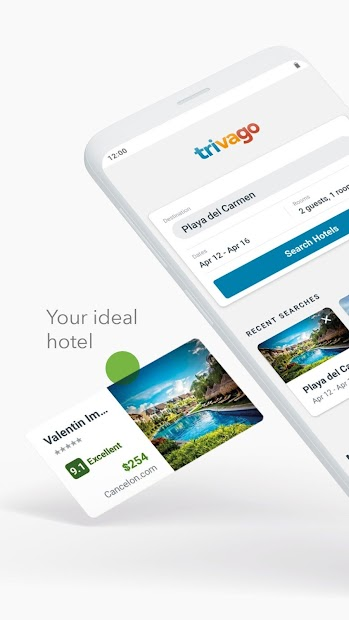 trivago: Compare hotel prices Android App Screenshot