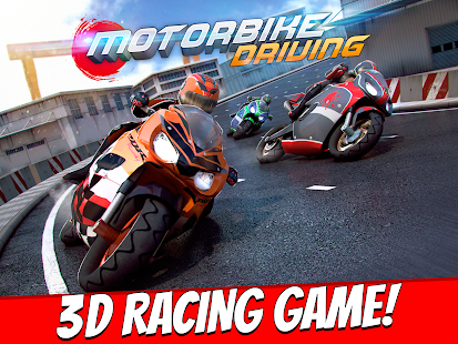 Motorbike Driving Simulator 3D- screenshot thumbnail