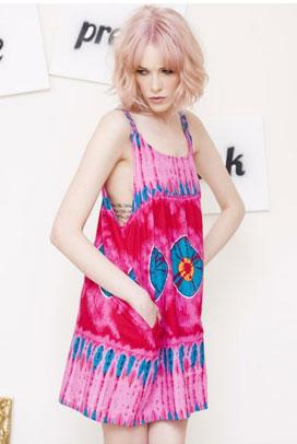 Photo: The Pretty Junk https://marketplace.asos.com/listing/dresses/vintage-pink-tie-dye-beach-dress/312795