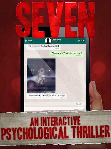 Seven - Deadly Revelation - Horror Chat Adventure 1.5.59 screenshots 6