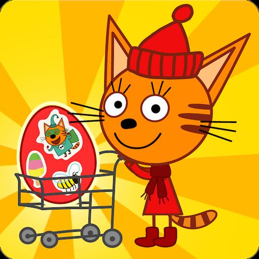 Три Кота Магазин Игра: Детские Развивающие Игры game (apk) free download for Android/PC/Windows