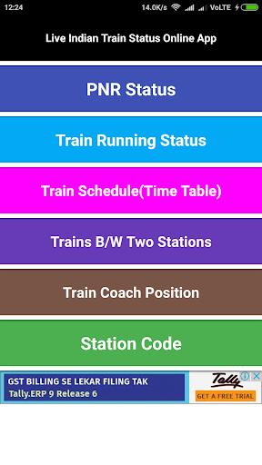 Check IRCTC PNR Status online and Get Train PNR Status