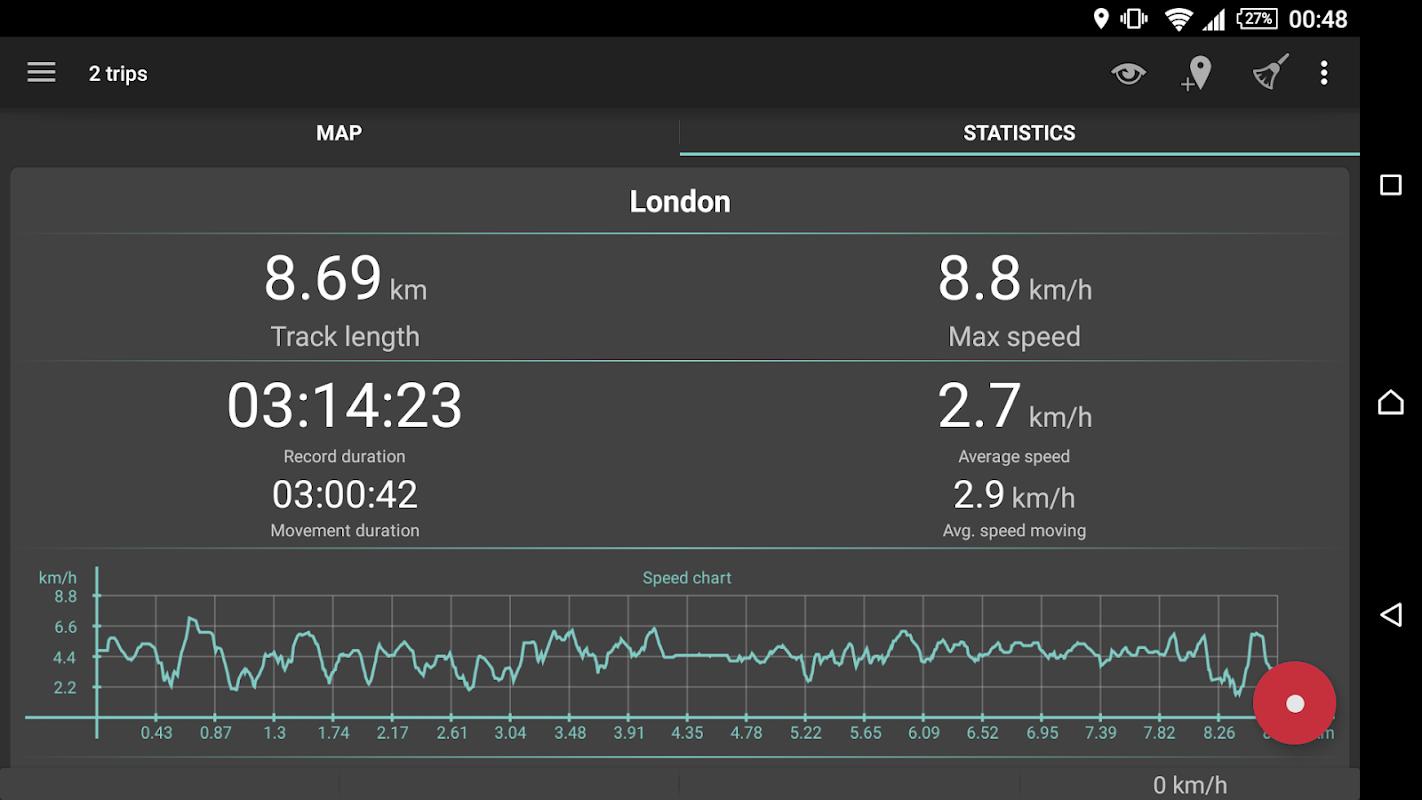 Geo Tracker - GPS tracker screenshots