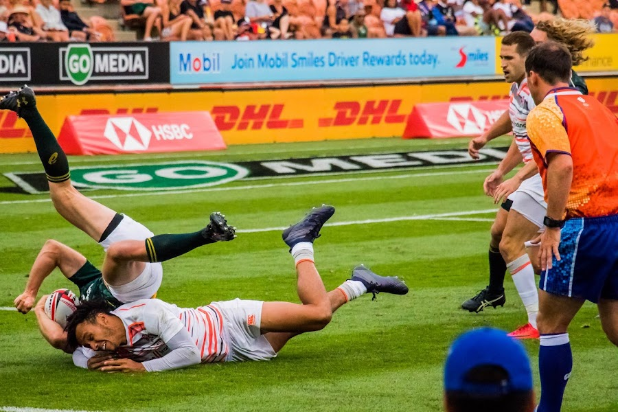 What a Tackle  by Ken Nicol - Sports & Fitness Rugby