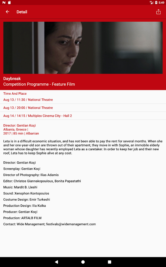 Sarajevo Film Festival – Official- screenshot