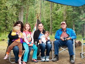 Photo: Making beautiful memories - 4 generations in this photo!