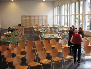 Photo: Vorbereitung für den Gottesdienst