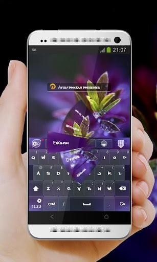 紫色夢幻 GO Keyboard