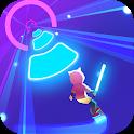 Cyber Surfer: Free Music Game - the Rhythm Knight icon