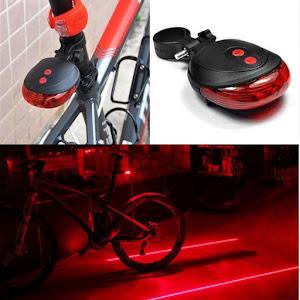 Stop bicicleta cu proiectie laser