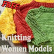 Knitting Women Models