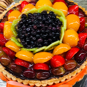 Lucky Tart by Lope Piamonte Jr - Food & Drink Candy & Dessert ( dessert, fruit, tart, sweet, colors )