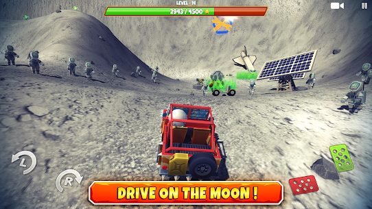 Zombie Offroad Safari MOD APK 1.2.1 (Unlimited Money) 3