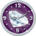 Diamond Analog Clock Widget icon