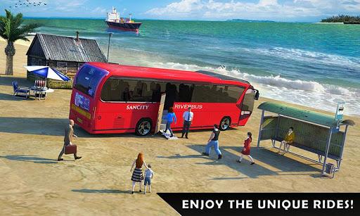 River Bus Driver Tourist Coach Bus Simulator androidiapk screenshots 1