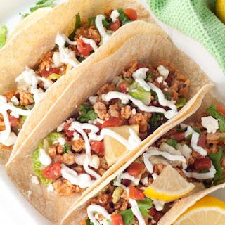 Greek Chicken Soft Tacos