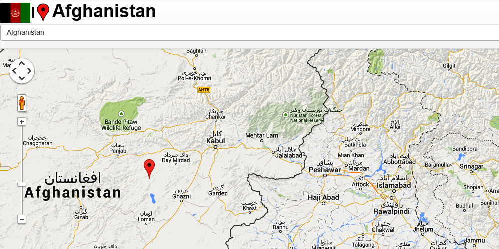 Afghanistan Map Android Apps On Google Play - Afghanistan map