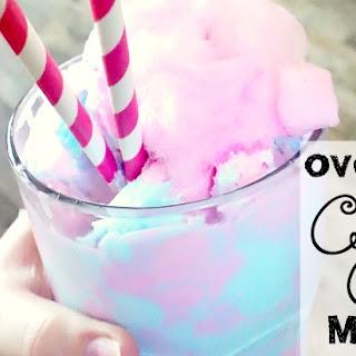 Overloaded Dairy-Free Cotton Candy Milkshake {vegan & gluten-free}