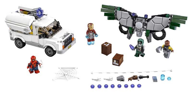 Contenido de Lego® 76083 Cuidado con Vulture