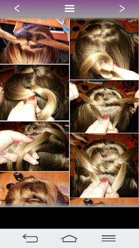 Hairstyles for girls 2018 23.0.0 screenshots 6