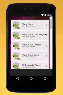 Pisco Sour Perú - náhled