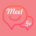 MEET me GO live-Free dating chat app,video live icon