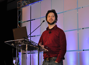 Photo: Apache Hadoop keynote - Todd Lipcon