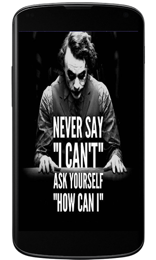 Joker Quotes Wallpaper 4k Pc Be Created Wallpaper
