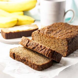 Best Ever Coconut Flour Banana Bread.