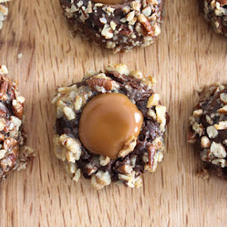 Caramel Thumbrint Cookies